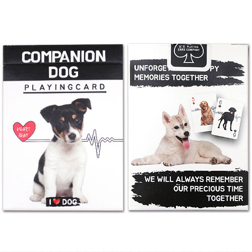 JLCC [한정덱]반려견카드(Companion dog playing card)