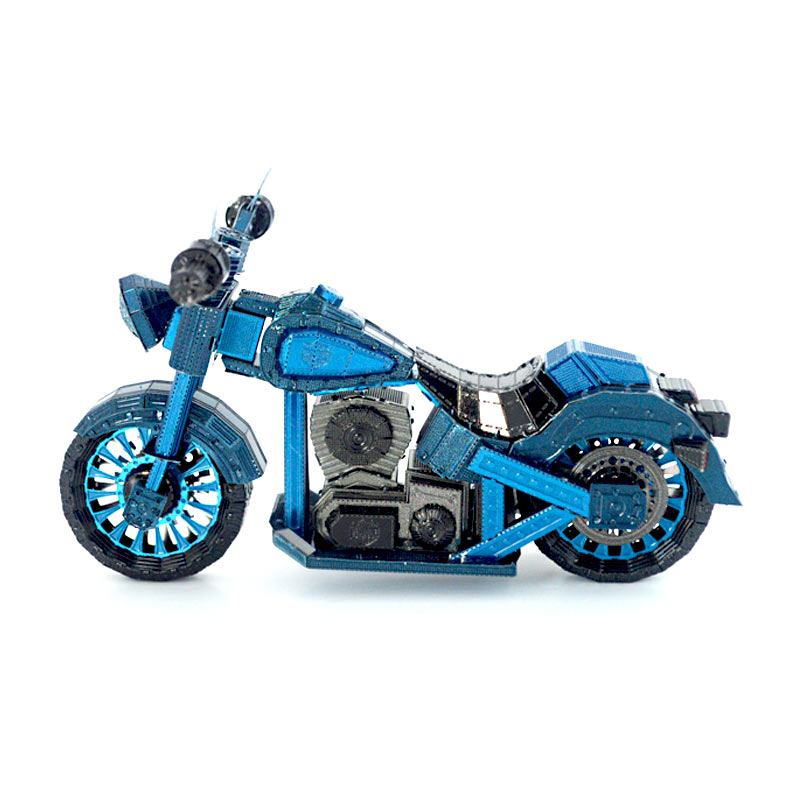 JLCC [3D컬러메탈퍼즐]오토바이(3D Color Metal Puzzle-Motorcycle)