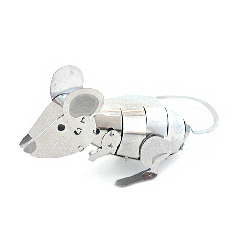 JLCC [3D컬러메탈퍼즐]실버마우스(3D Color Metal Puzzle-Silver mouse)